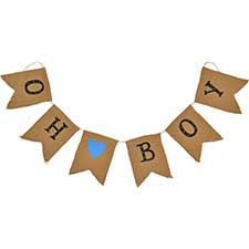 Banners, Bunting, Pennant Garland