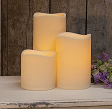 Battery Pillar & Votive Candles