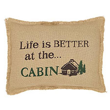 Lodge & Cabin Decorative Pillows