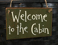Lodge & Cabin Signs & Wall Decor