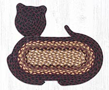 Cat and Fish Braided Rugs