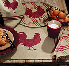 Chicken Table Linens