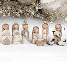 Nativity, Faith, & Angel Decor
