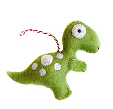 Dinosaur Ornaments