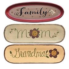 Family Themed Plates