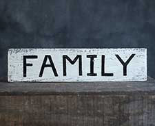 Family & Friends Signs