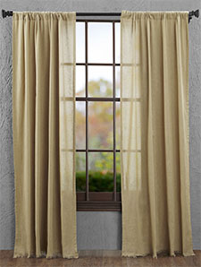 Sheer & Neutral Curtains