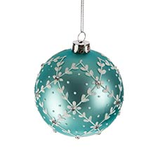 Green & Blue Ornaments