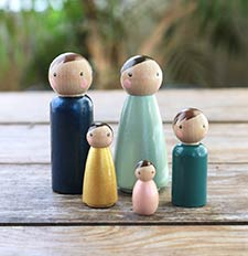 Peg Dolls / Cake Toppers / Ornaments
