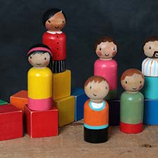 Educational Toys & Peg Dolls