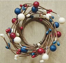 Patriotic Wreaths, Garlands, & Picks