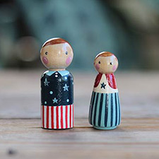 Patriotic Figurines