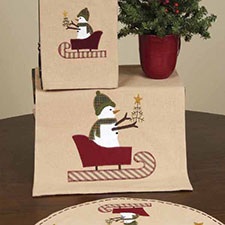 Primitive Christmas Linens