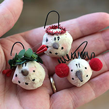 Primitive Christmas Ornaments