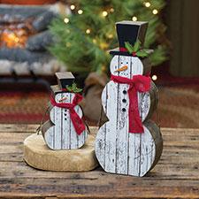 Primitive Christmas Shelf Sitters
