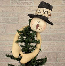 Primitive Christmas Tree Toppers