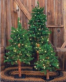 Primitive Christmas Trees