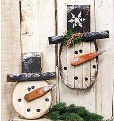 Primitive Christmas Wall Decor