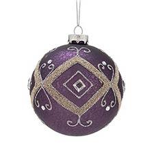 Purple & Pink Ornaments