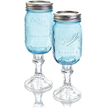 Mason Jar Drinkware & Decor
