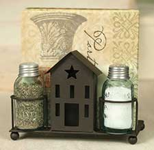 Salt & Pepper Shakers, Napkin Holders, etc