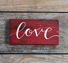 Valentine's Day Signs & Wall Decor