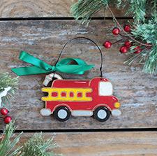 Vehicle Christmas Ornaments