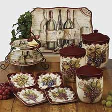 Wine & Grape Dinnerware