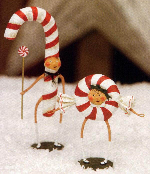 Patsy and Peppie Mint, by Lori Mitchell