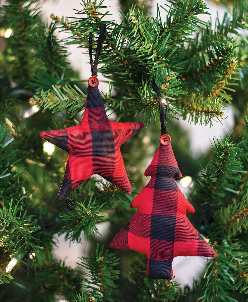 Buffalo Check Ornaments