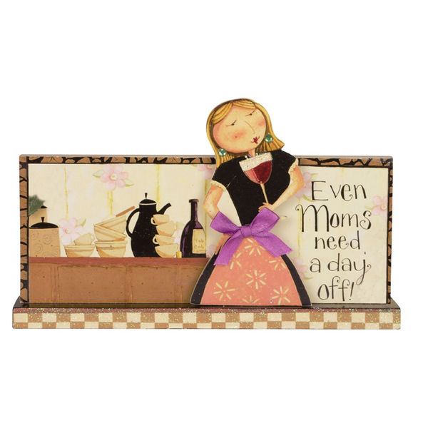 Even Moms Message Bar/Plaque, by Carson Home Accents