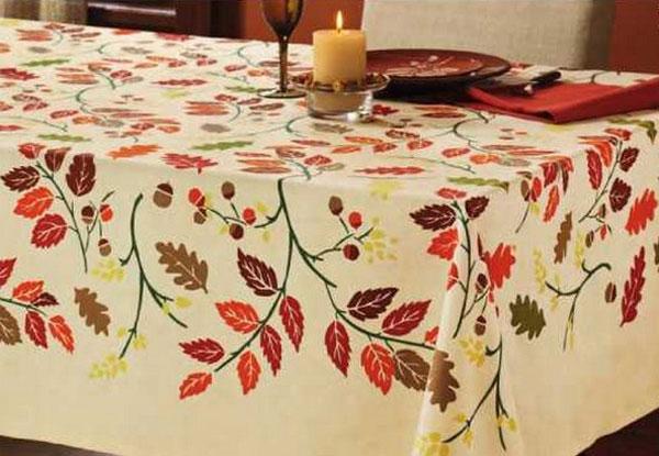 Fall Leaf Tablecloth, by Tag