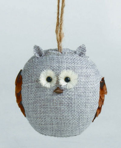 Chalet Owl Ornament, by Tag