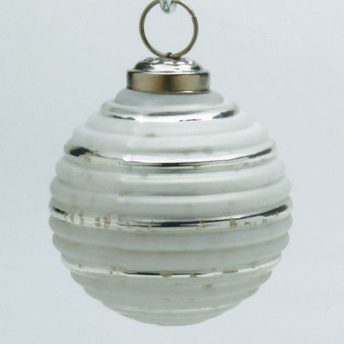 Frost White Festive Ornament, by Tag