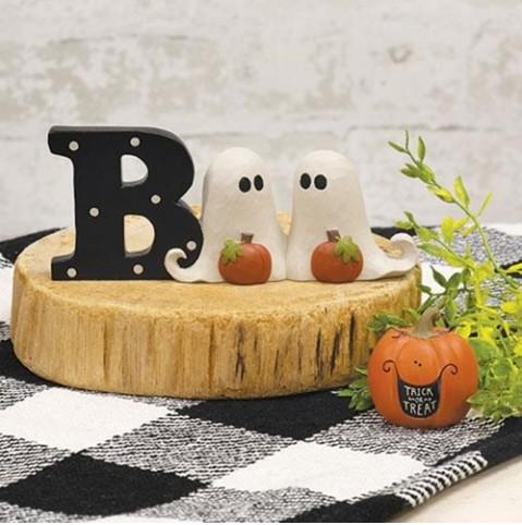 Trick or Treat Pumpkin Figurine