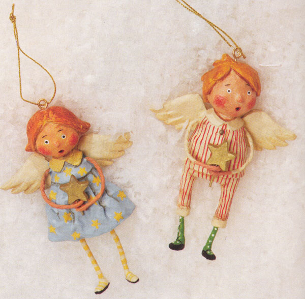 Babes in Toyland Ornament, by Lori Mitchell
