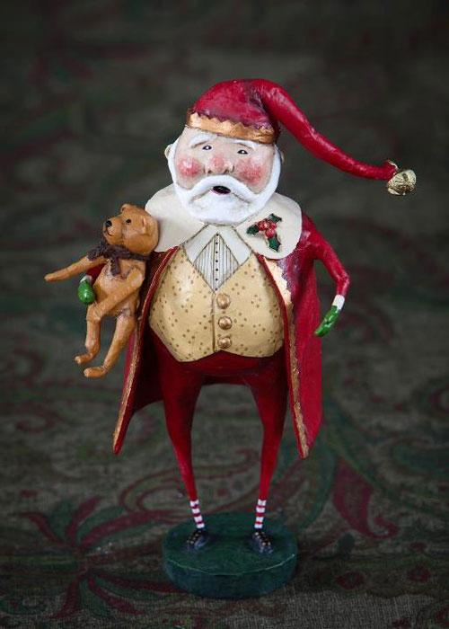 Christmas Cheer Santa, a Lori Mitchell design with ESC Trading Company