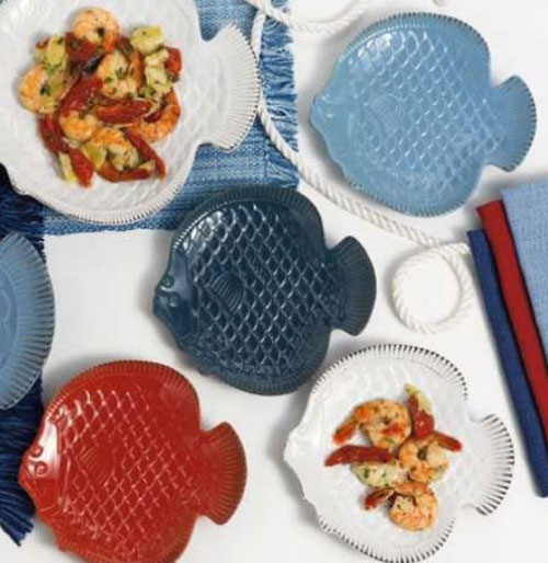 nautical fish plate by DII