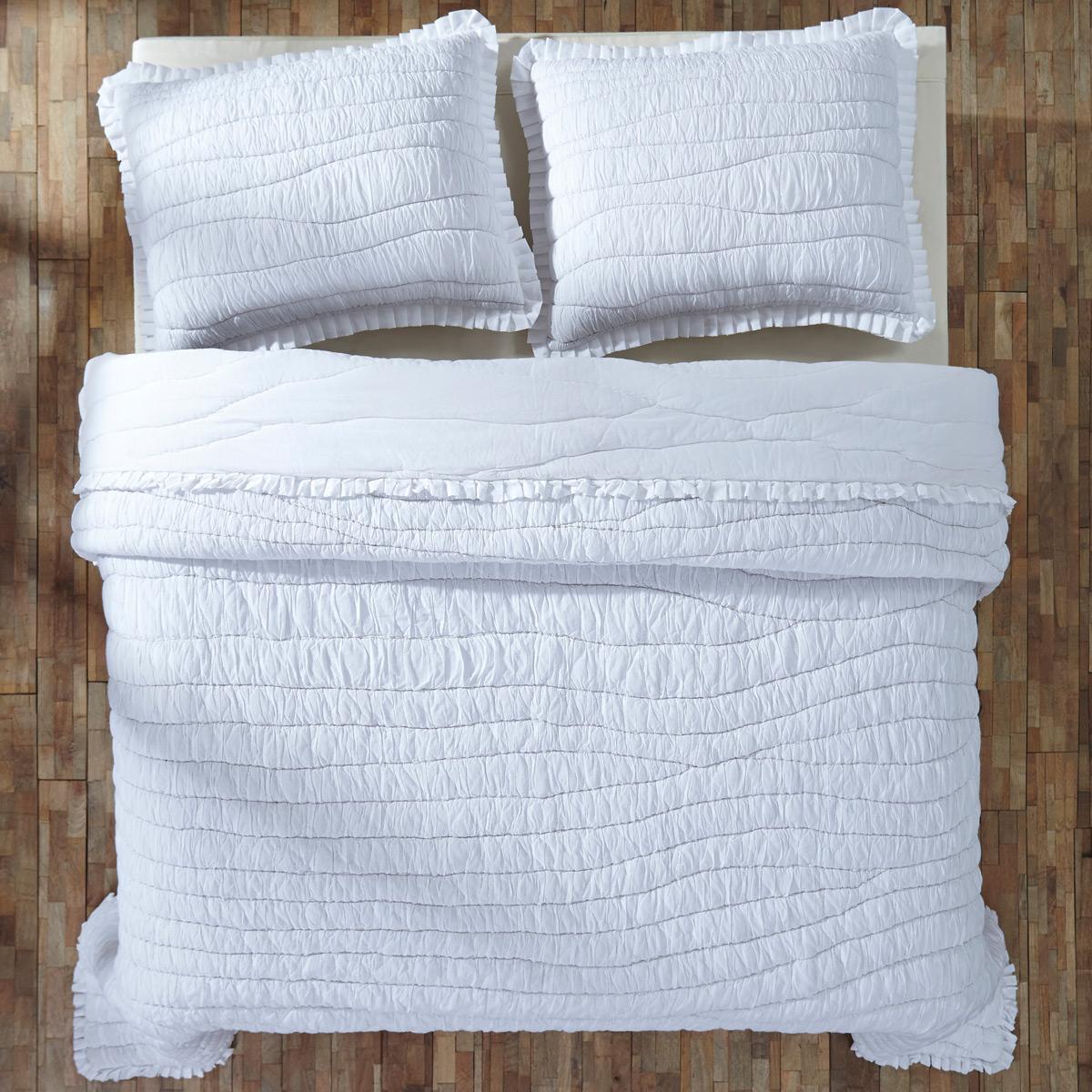 Aurora Quilt, Shabby Chic Bedding, by VHC Brands