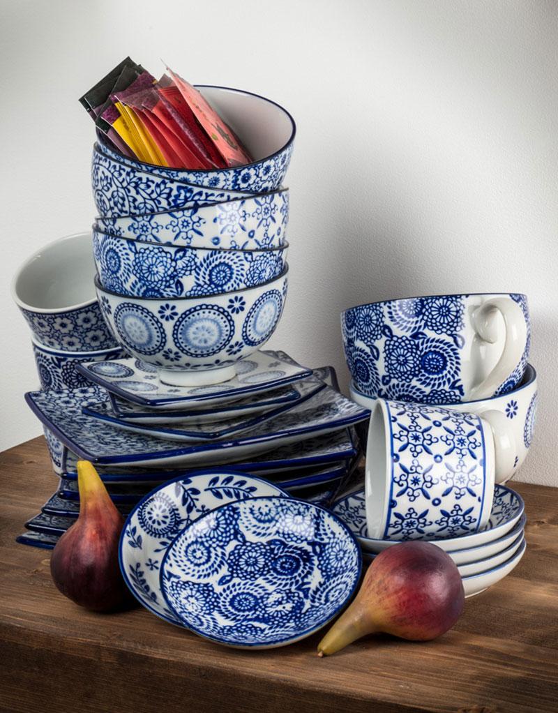 Indigo Collection Dishes
