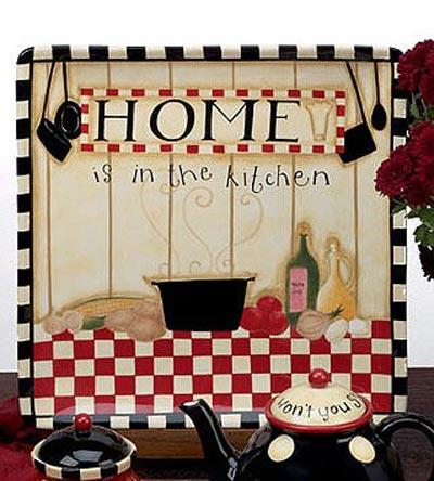 Family Table Dinnerware - Square Platter
