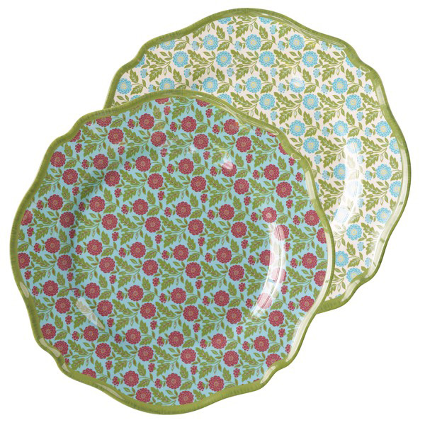 Outdoor Gatherings Melamine Appetizer Plate, by Grasslands Road