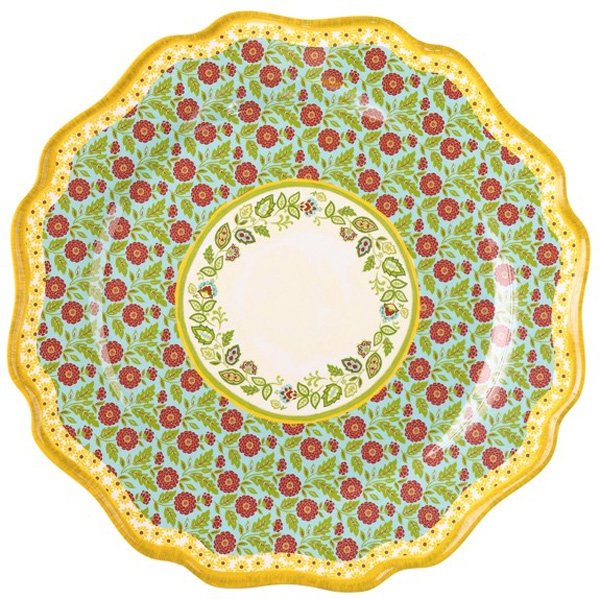 Left plate