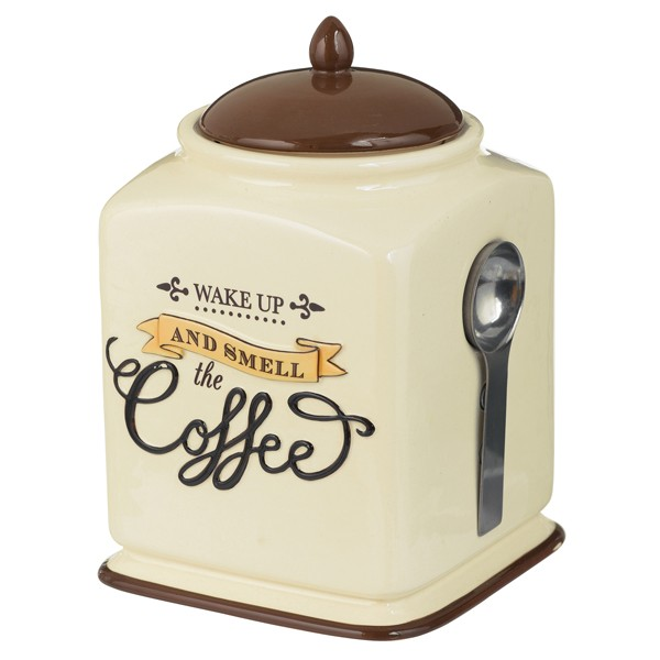 Coffee Themed Kitchen Canister Sets