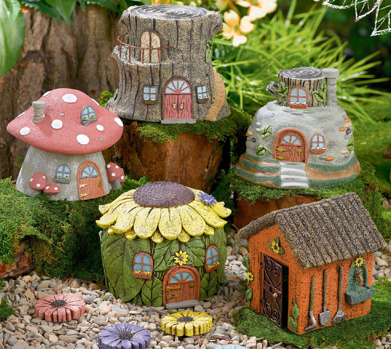 Fairy House Figure, by Grasslands Road