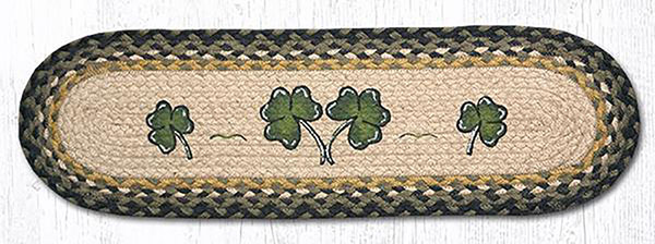 Shamrock Braided Stair Tread By Capitol Earth Rugs The Weed Patch