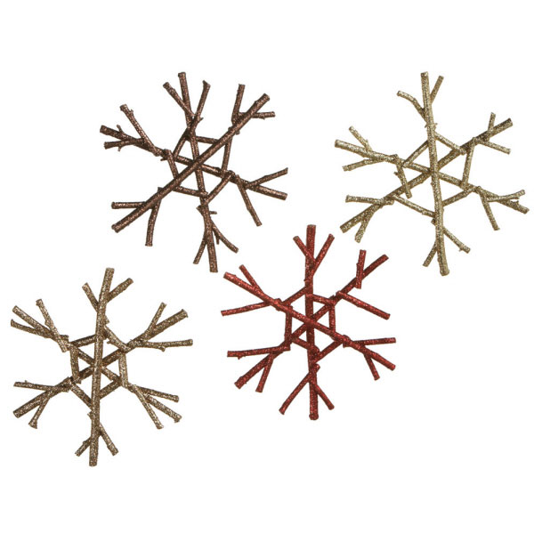 Twig Snowflake Ornament, by Seasons of Cannon Falls