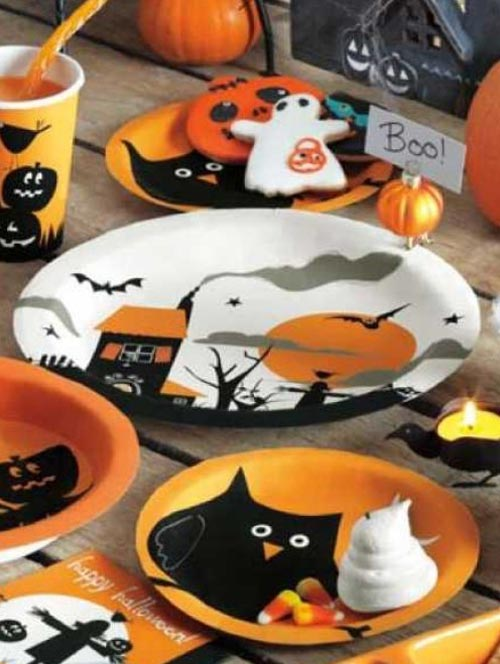 Halloween Paper Plates, by Tag