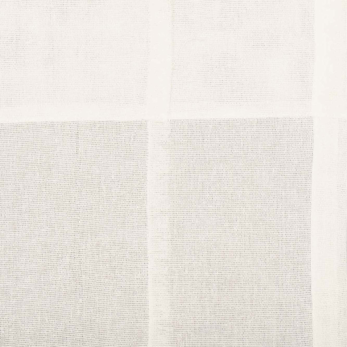 Tobacco Cloth Antique White Patchwork Fabric Detail