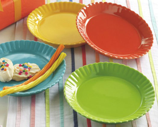 Party Appetizer Plate, by Tag